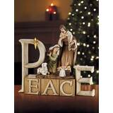 "Nativity Figurine-Peace (8.25"")"